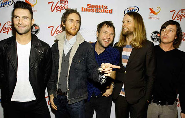 Foto Band Maroon 5 group