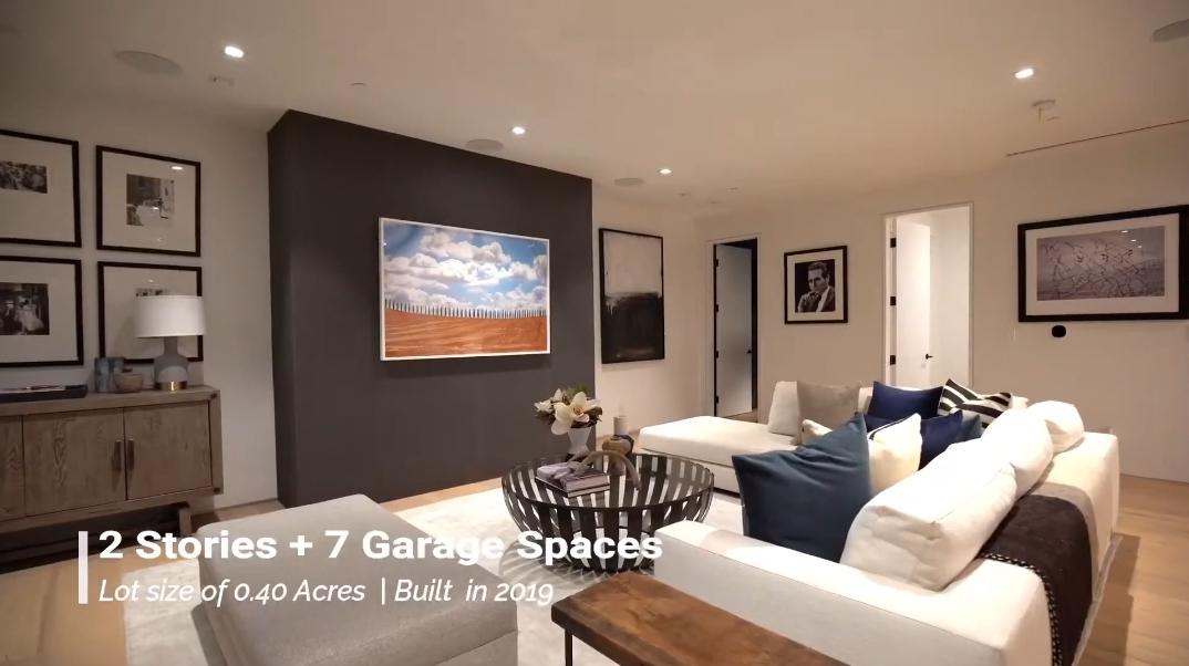 50 Interior Design Photos vs. 12471 Mulholland Dr, Beverly Hills, CA Luxury Contemporary House Tour