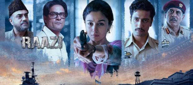 Raazi - 10 best bollywood hindi movies of 2018