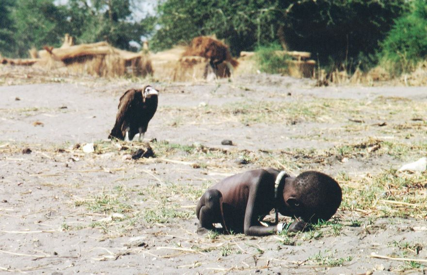 Starving Child And Vulture, Kevin Carter, 1993