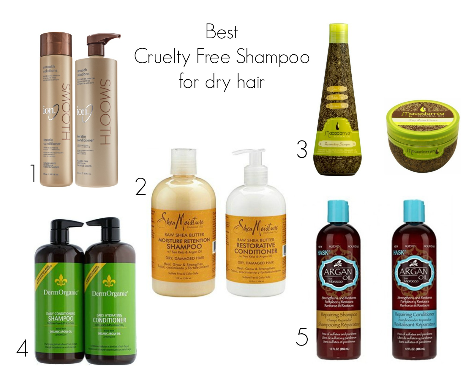 Best Cruelty Free Shampoo For Dry Hair