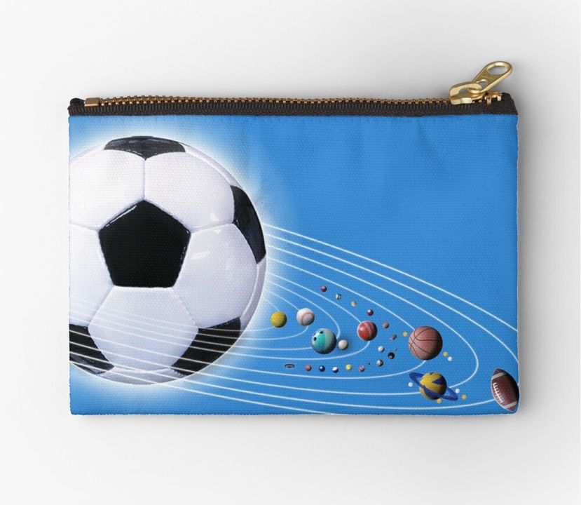 All Sports Solar System Zipper Pouch or Duvet Cover