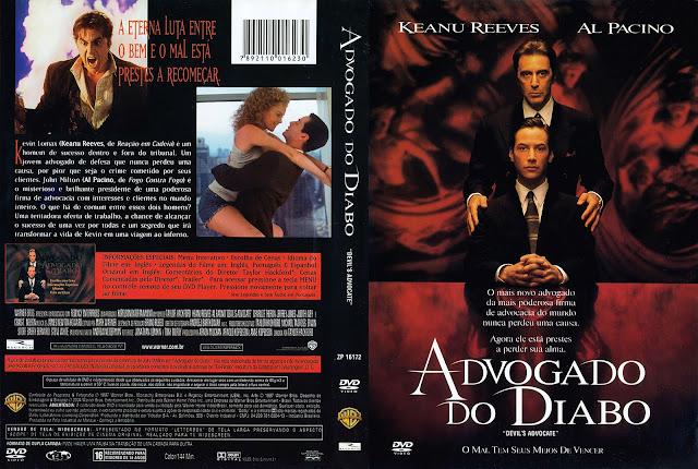 Capa DVD Advogado do Diabo