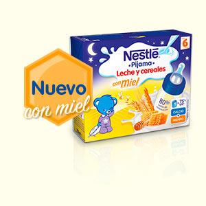 Nestle-leche-cereales-pijama-con-miel