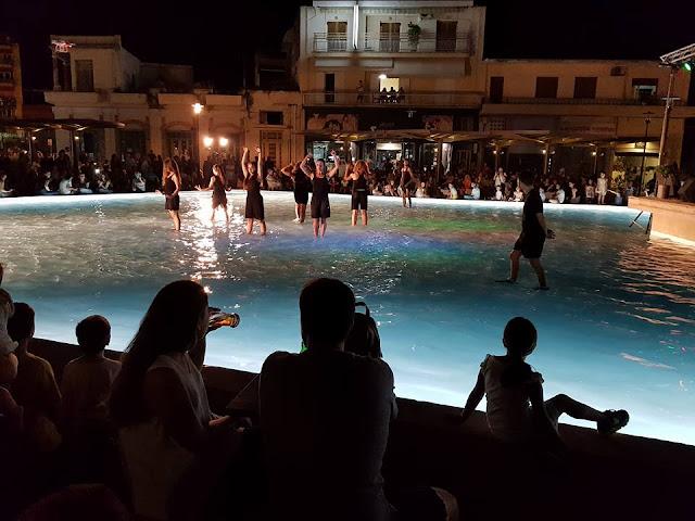 Ξεχωριστή βραδιά με μουσική και χορό μέσα στο νερό στο Άργος