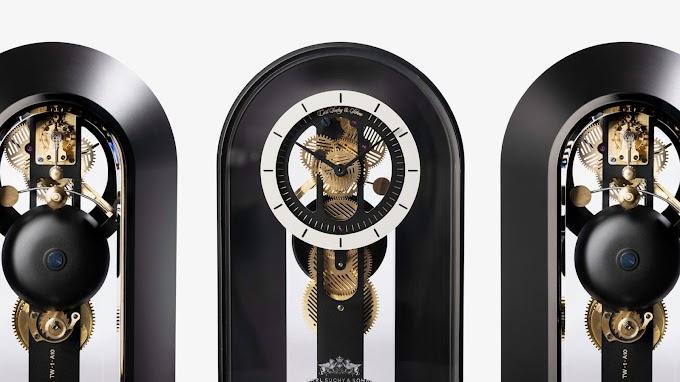 カール・スッキー&ゾーネ「テーブルワルツ」 - 空間と時の概念を変化させるクロック