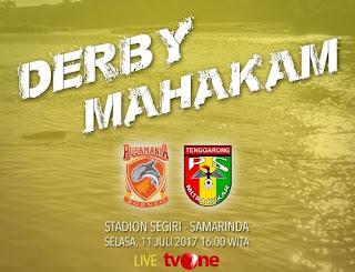 Jadwal Liga 1 Selasa 11 Juli 2017: Derby Mahakam Borneo FC vs Mitra Kukar