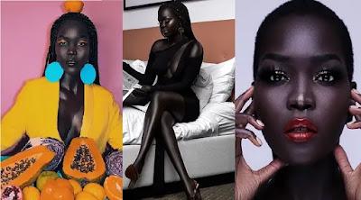 ملكة الظلام من هي عارضة الأزياء نياكيم جاتويش - Nyakim Gatwech