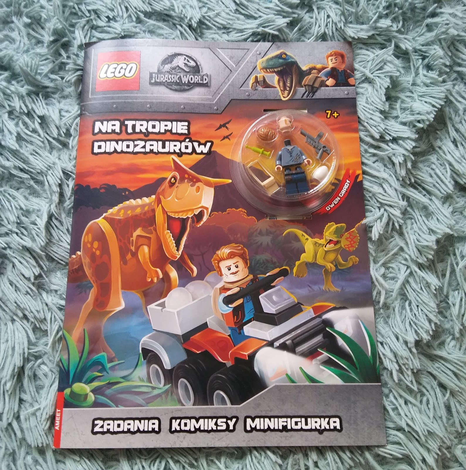 AMEET- LEGO JURASSIC WORLD. Na tropie dinozaurów