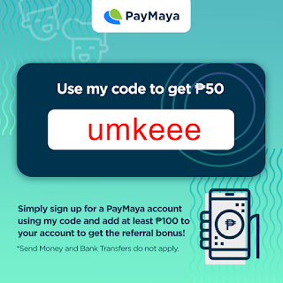 PayMaya Referral Code