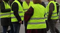 Pour avoir tagué la chaussée avant le passage d'Emmanuel macron et Donald Trump à l'occasion des commémorations du Débarquement, six Gilets jaunes ont été jugés mercredi 28 août 2019 par le tribunal correctionnel de Caen (Calvados).