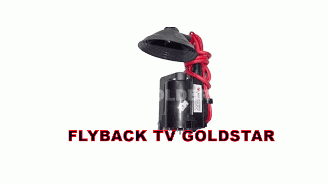 PERSAMAAN FLYBACK TV GOLDSTAR BESERTA DATA PIN