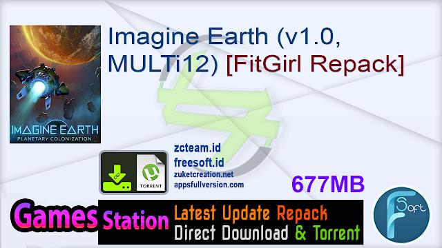 Imagine Earth (v1.0, MULTi12) [FitGirl Repack]
