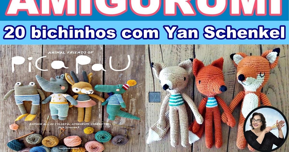 Receita Maxi Rinoceronte com Fio Maxi Amigurumi - Blog do Bazar ... | 630x1200
