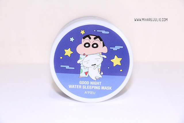 Crayon Shinchan Edition A'pieu Good Night Water Sleeping Mask