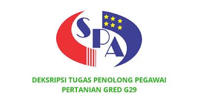 Gaji, Kelayakan & Tugas Penolong Pegawai Pertanian Gred G29
