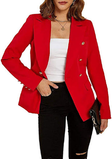 Best Red Blazers Jackets For Women