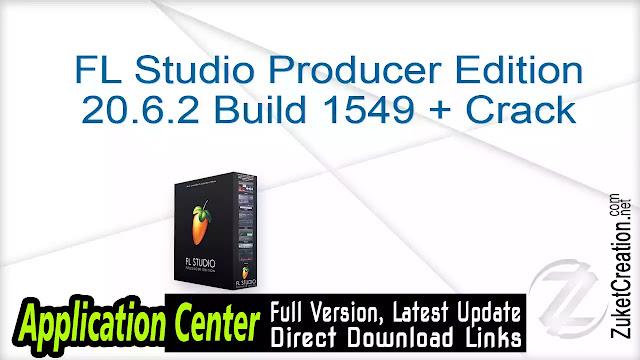 FL Studio Producer Edition 20.0.1 build 451 RC1 Signature Bundle + Crack