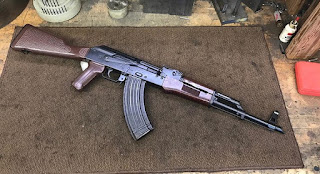 East-German-AK-Custom-In-Range