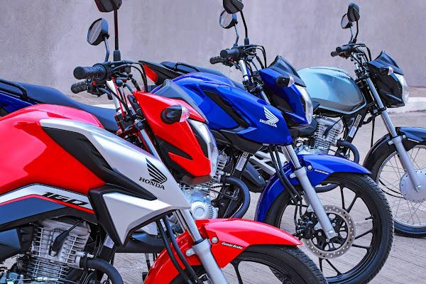As motos mais vendidas do Brasil em 2021