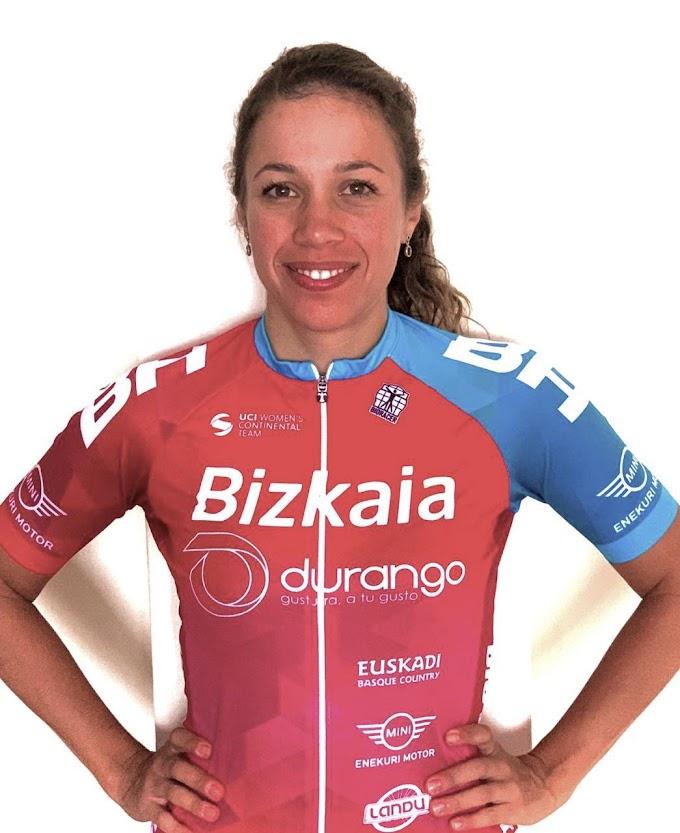 Nadine Gill correrá en el Bizkaia - Durango hasta 2021