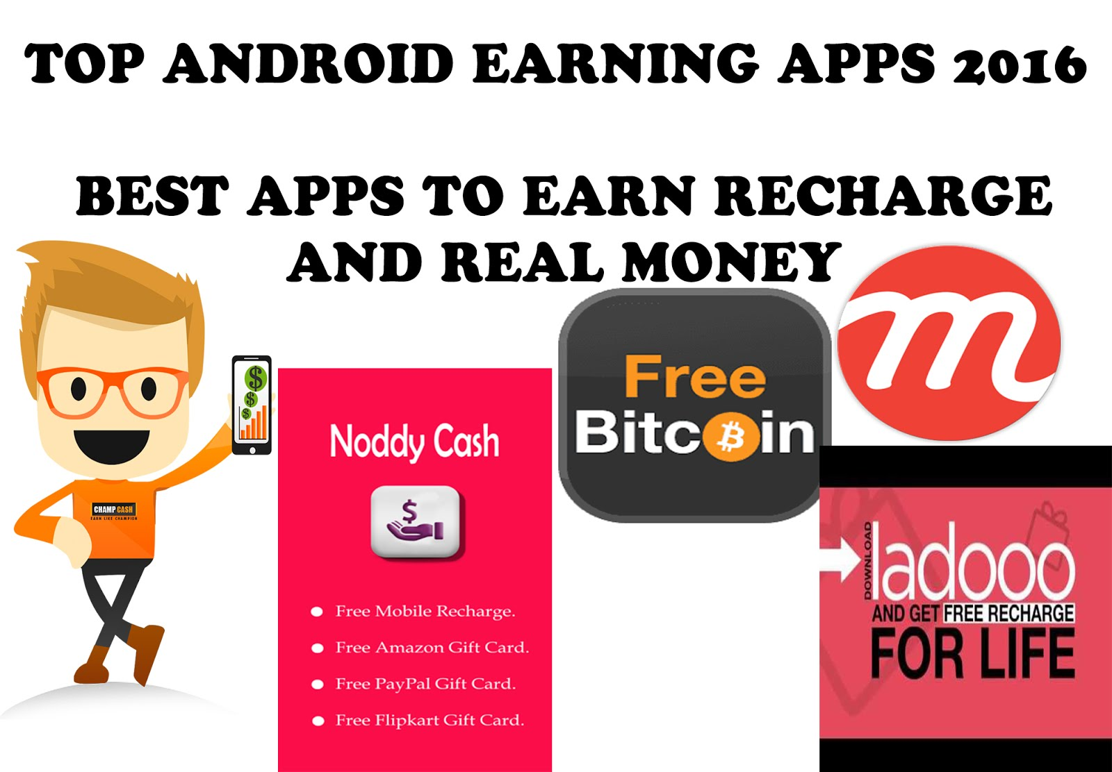 Earn Money By Downloading Android Apps And Inviting – Dibujos Para