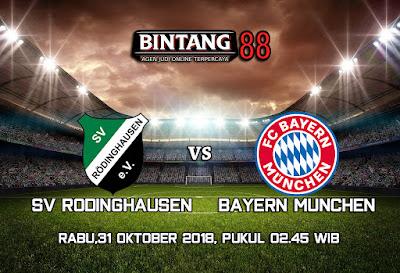 Prediksi SV Rodinghausen VS Bayern Munchen 31 Oktober 2018