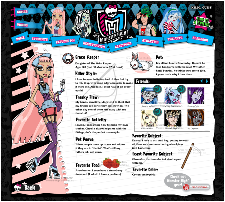 Monster high bios cupid dating 9
