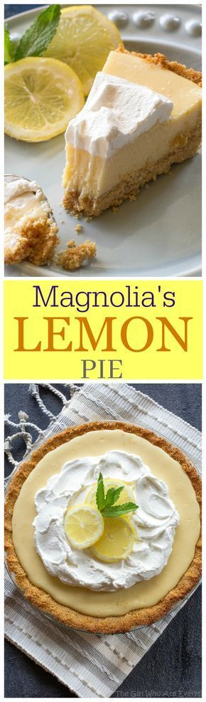 Magnolia's Lemon Pie