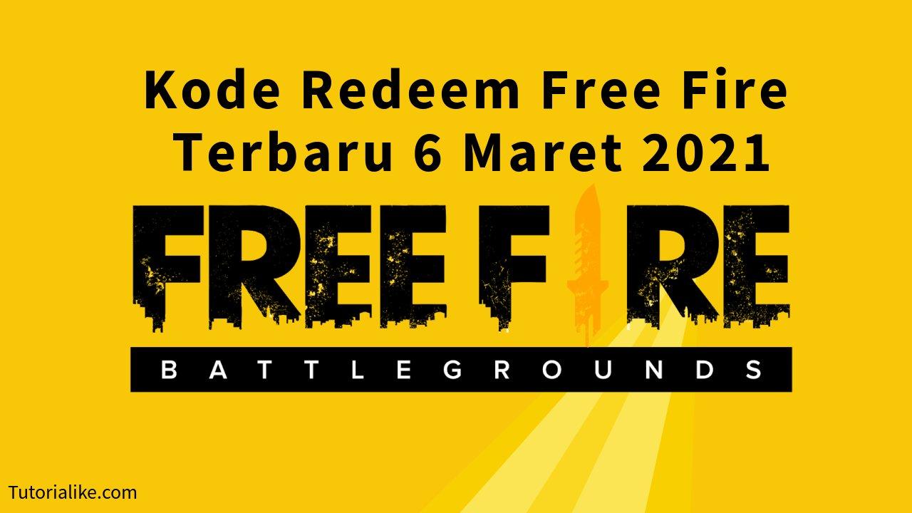 HOT! Kode Redeem Free Fire (FF) 6 Maret 2021