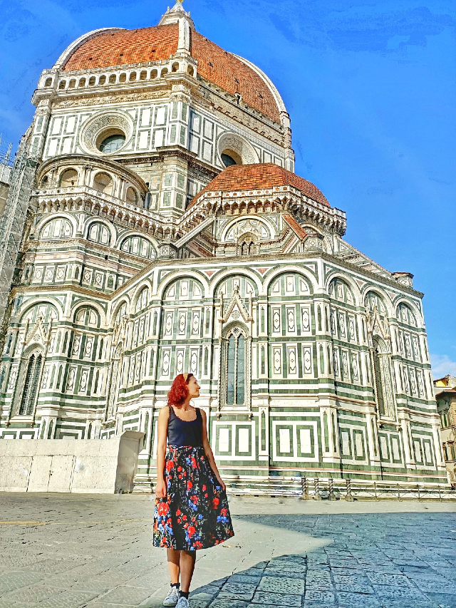visiting the Duomo in florence, italy