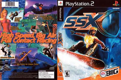 Descargar SSX para PlayStation 2 en formato ISO región NTSC y PAL en Español Multilenguaje Enlace directo sin torrent. SSX (Snowboard Supercross) son una serie de videojuegos de snowboarding publicados por EA Sports BIG. Es muy parecido a un juego del estilo arcadia, no un juego de simulación, enfocándose más en trucos irrealistas y pistas más grandes que en las de la vida real.