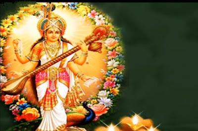 beautiful images of maa saraswat
