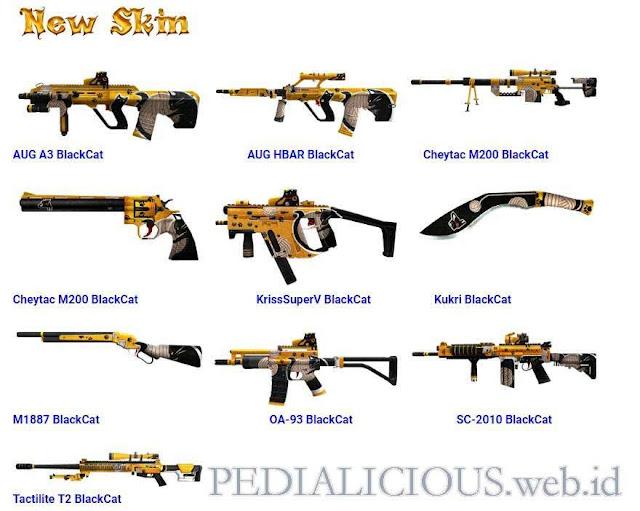 Harga & Statistik Seri BlackCat Senjata Point Blank