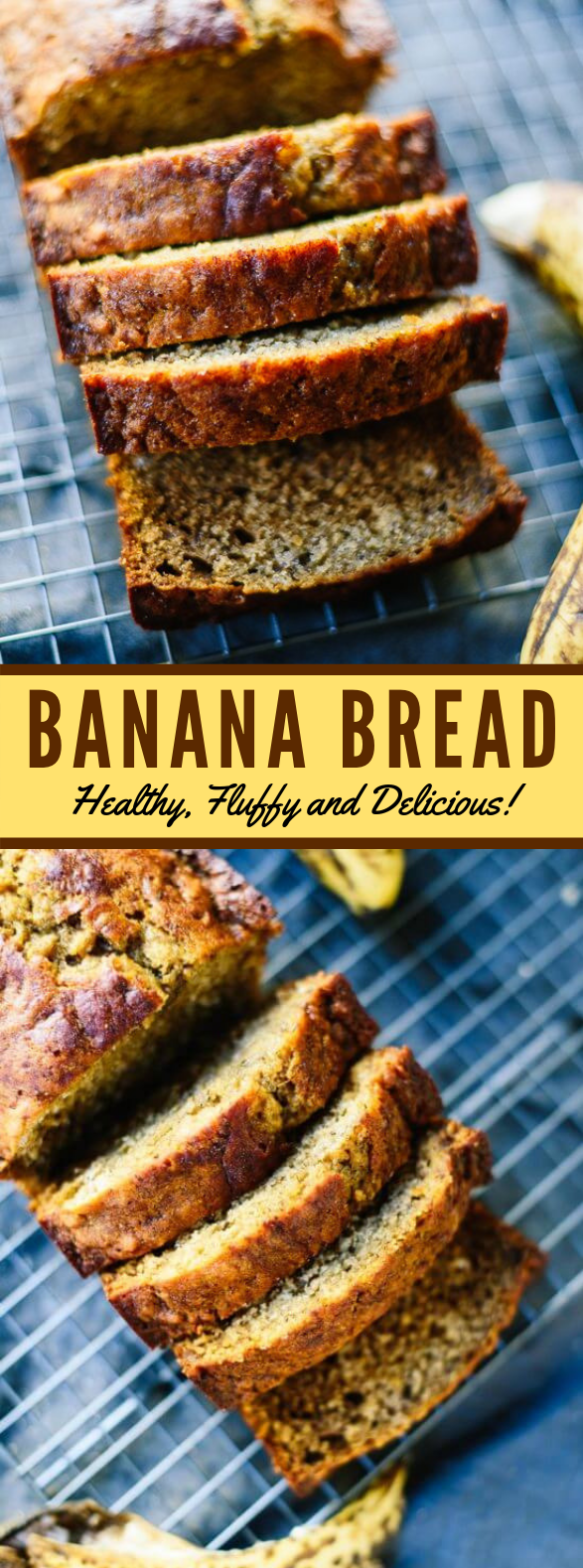 Healthy Banana Bread! #healthydiet #breakfast