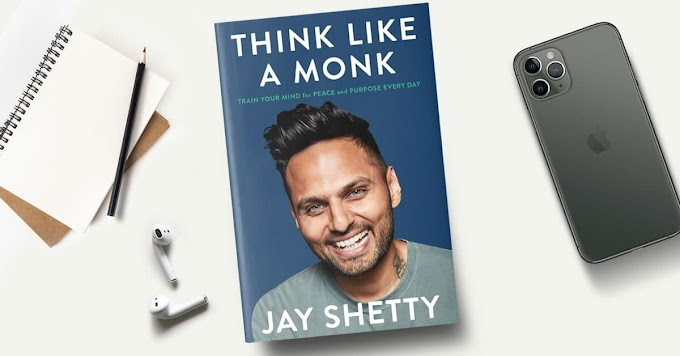 Think Like a Monk: about the book  in Hindi