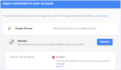 Remove Apps Gmail