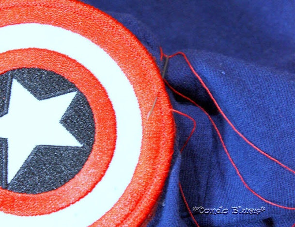 How to make an easy Captain America t shirt