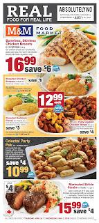 M & M Food Market Weekly Flyer valid April 26 - May 2, 2018