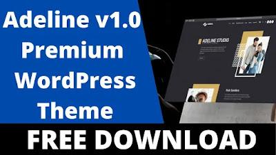 Download Free Adeline v1.0.0 – Photography Portfolio Theme