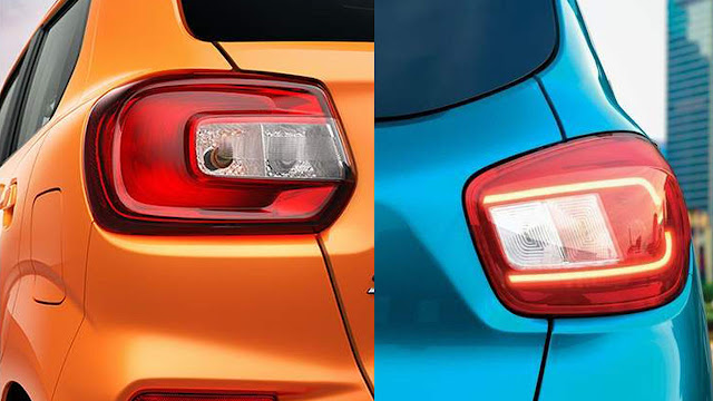 Tail light compare