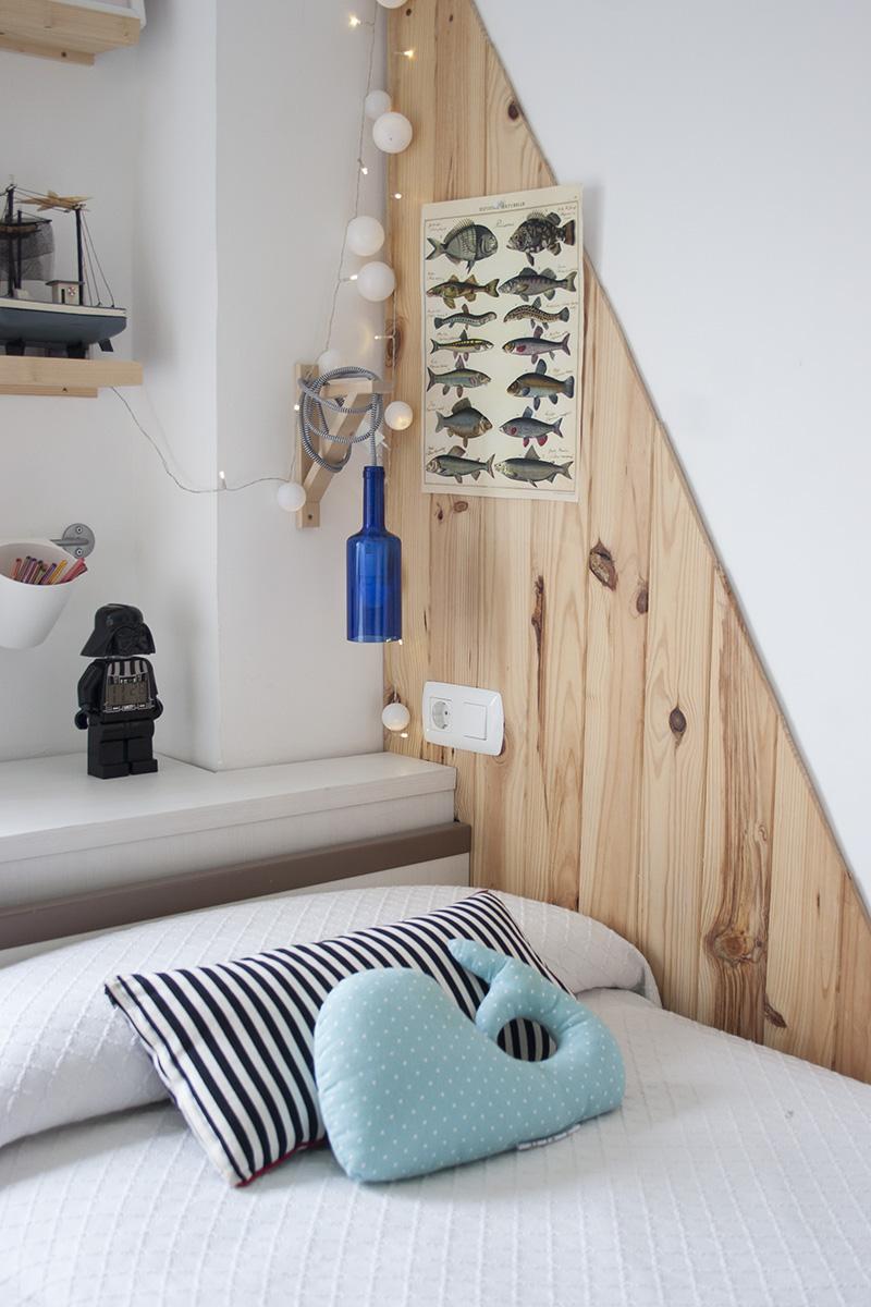 Reciclando con Ikea: Diy lámpara con botella de cristal8