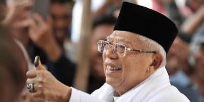 Maruf Amin Samakan Keraton Agung Sejagat dengan Khilafah