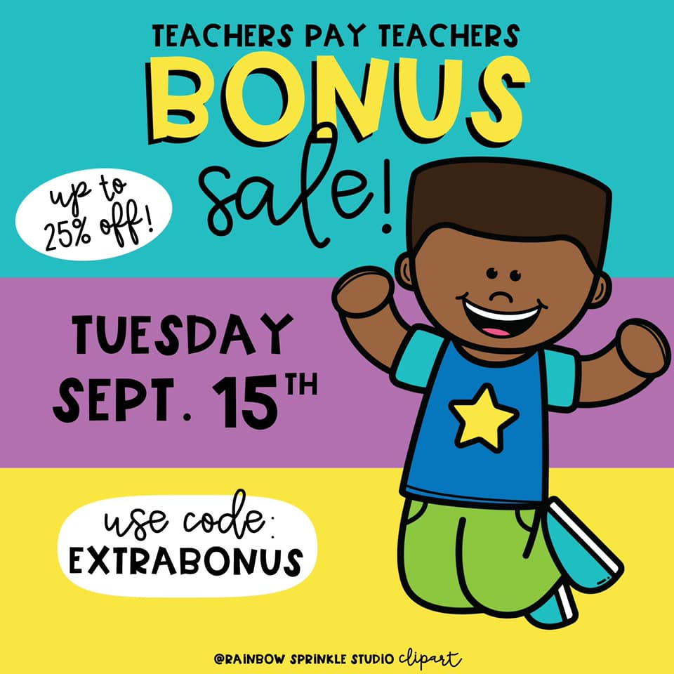 Take advantage of TpT's extra Back to School sale on Tuesday, September, 2020 to save 25% off on resources at The ESL Nexus!