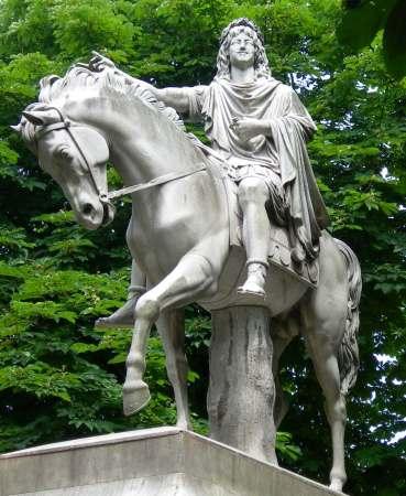 Statue de Louis XIII - Dupaty-Cortot