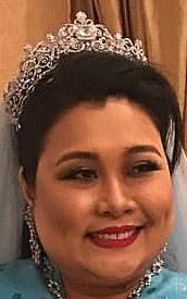 aquamarine tiara pahang malaysia queen tengku ampuan azizah indera madina kamalia