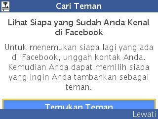 Cari teman facebook