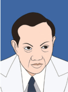Prof. Dr. Mr. Soepomo vector