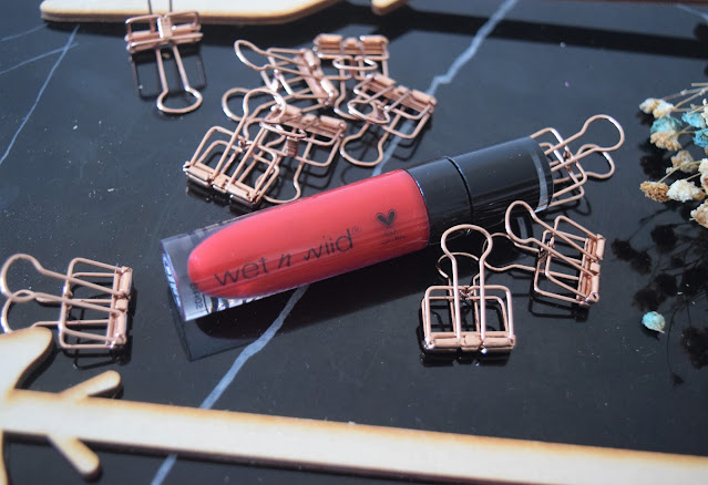 Wet n Wild liquid lipstick Review