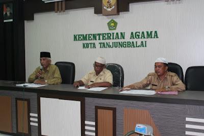 Kemenag Tanjungbalai Gelar Rapat Jelang HAB